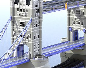3D Bridge London Tower
