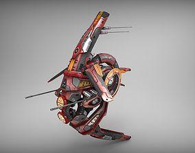 Drone V1 - RedManga 3D model