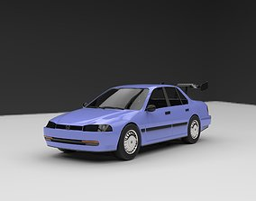 1989 Honda Accord CB3 Sedan 3D printable model