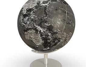 3D model Black Earth Globe