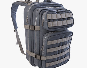 3D model camping Backpack