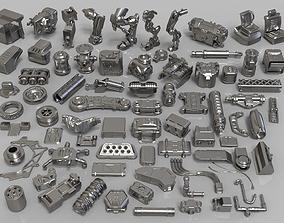 3D model Kit bash - 75 pieces - collection-26 fictional