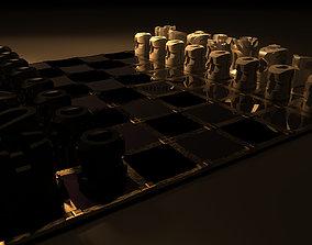 3D print model Chess board