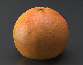 Grapefruit 3D scanned model