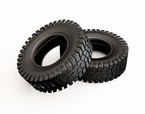 Tire 02 3D model