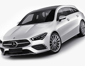 Mercedes CLA Shooting Break 2020 3D