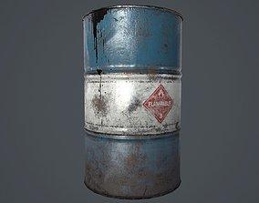 3D asset Oil Barrel