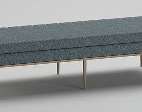 Knoll Bench 3D model