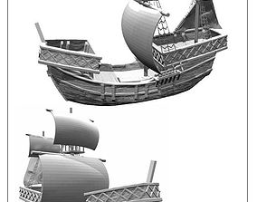 3D print model Cog ship -stl file-
