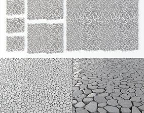 3D bridge Paving tile concrete Ngon n1