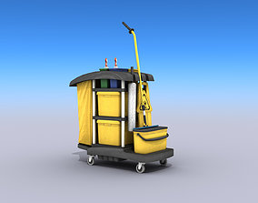 3D model Cleaning Cart