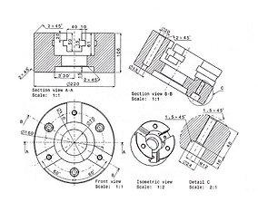 machine lathe universal 3D