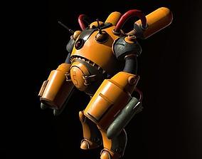 3D asset Battle Bot
