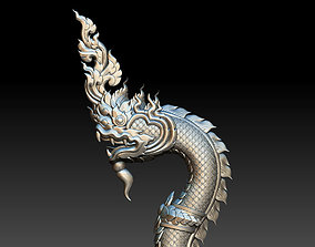 Naga Thai Style 3D print model