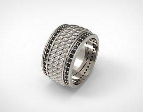 David Yurman Maritime Rope Band Ring 3D printable model 1