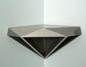 3D printable model Diamond Corner Shelf