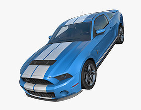 3D Ford Mustang Shelby GT500 2010