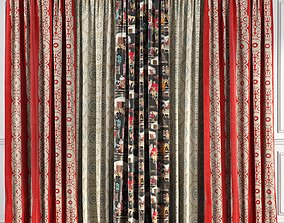 Curtain Set 52 3D