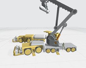 3D print model -MHBV01C- Mecha Hangar Bay Vehicles set 01