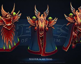 3D printable model Master Kael Thas Blizzard Cosplay