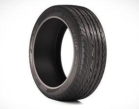 3D Photorealistic Car Tire