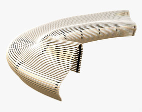 3D model Parametric Bench Like Matthias