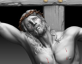 jesus 3D print model Crucifixion of Jesus