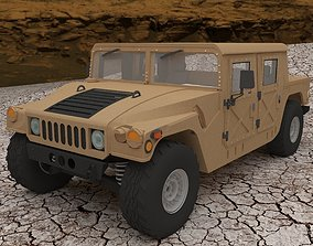 Humvee Civilian Version 3D print model