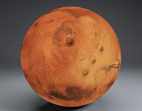 Mars 8k Globe 3D