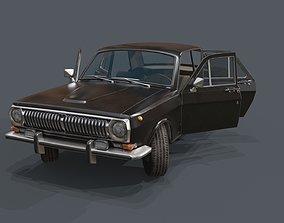 GAZ24 Volga 3D asset