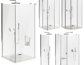 3D Ravak Chrome Shower Cabin