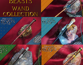 FANTASTIC BEASTS WAND COLLECTION 1 3D printable model