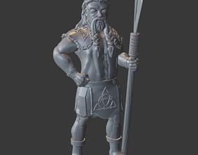 3D print model Celtic Knots Viking Male Miniature