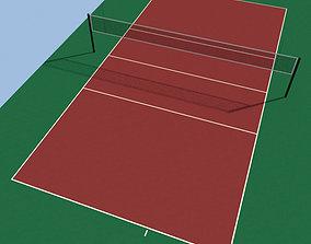 3D model Volleyball Court