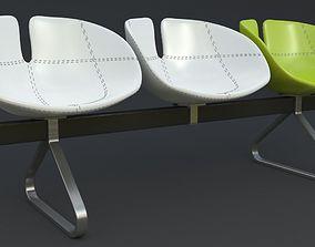 chair Fjord Bench Sistema Iray piu 3ds max