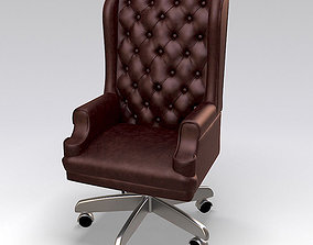 3D model High back executive chair
