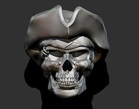 3D printable model Pirate Skull