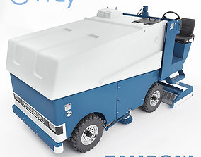 3D Zamboni ice filling and cleaning machine