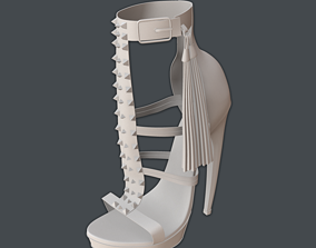 3D Strung Platform Pump by Jeffrey Campbell