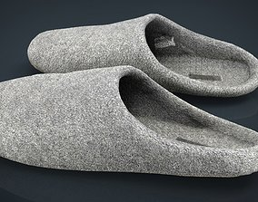 3D asset House slippers 3