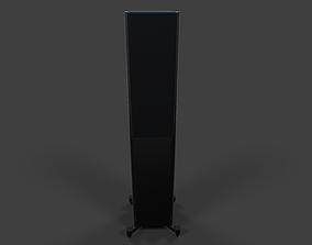 Tower Speaker V03 - Low Poly 3D asset