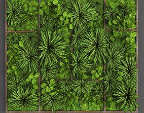 3D asset Vertical gardening 016