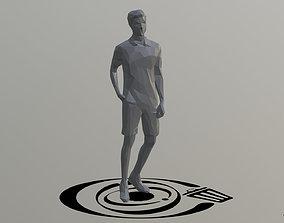 3D asset Human 040 LP R