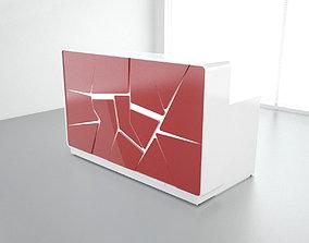 3D model MDD Arctic Summer Reception Desk