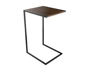 Side Table Bricktown 3D