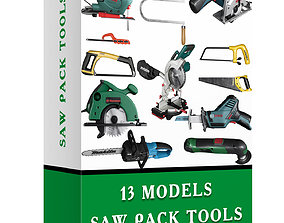 3D asset saw pack tools