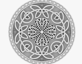 Celtic Ornament 12 3D
