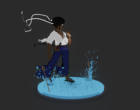 afro samurai 3D