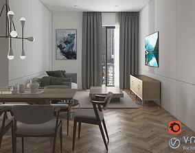 3D Epsay Living room No1