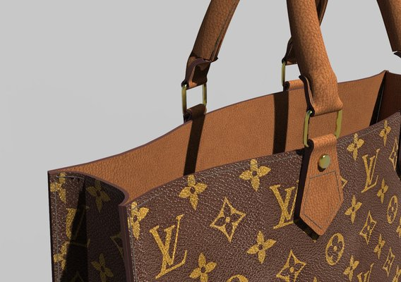 LV tote bag optimized